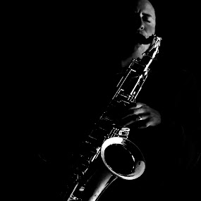 Saxy by Trevor Bond - People Musicians & Entertainers ( sax, musician, people,  )