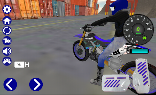 Motocross Motorbike Simulator