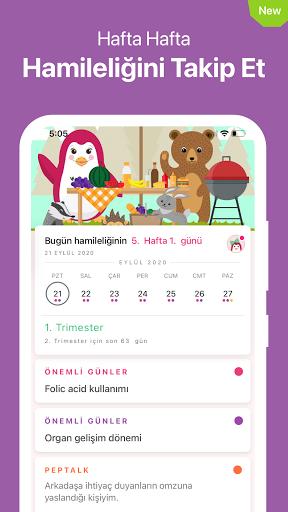 Pepapp❣️ Period Tracker & Menstrual Cycle Calendar screenshot 5