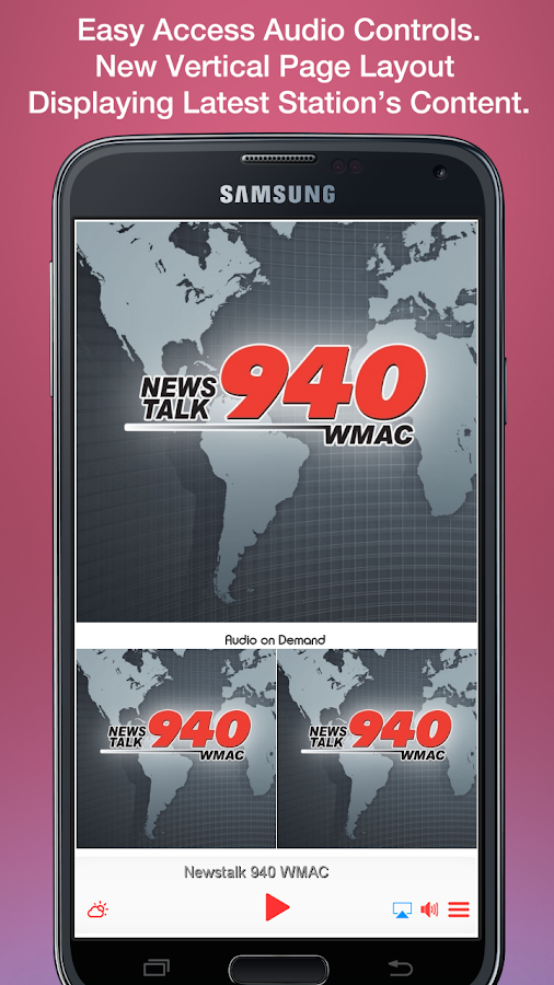 Newstalk 940 WMAC- screenshot