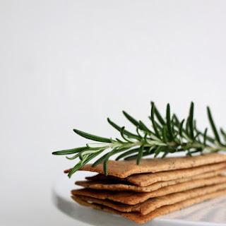 Buckwheat and Rosemary Crackers Recipe