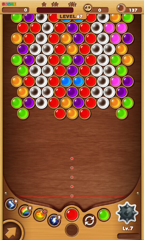 android Bubble Shooter King2 Screenshot 1