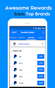 Sensible Wallet Cash Rewards- screenshot thumbnail