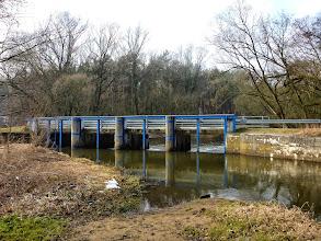Photo: 26,9 km Budy Grabskie, most Kopersteina, mały próg, przenoska prawą stroną, dobre miejsce na biwak, zakończenie, rozpoczęcie spływu