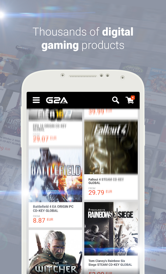 G2A - Game Stores Marketplace- screenshot