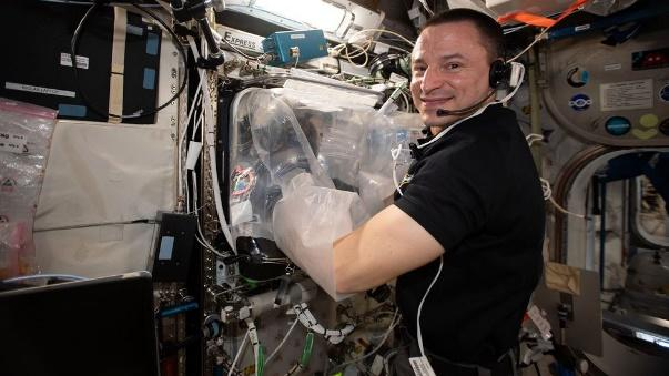 Experiments conducted on the International Space Station by Andrew Morgan showed organs could be printed a low gravity environment (Credit: Nasa)