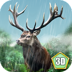 Wild Deer Simulator 3D Icon