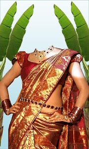 Wedding Saree Photo Suit screenshot 1