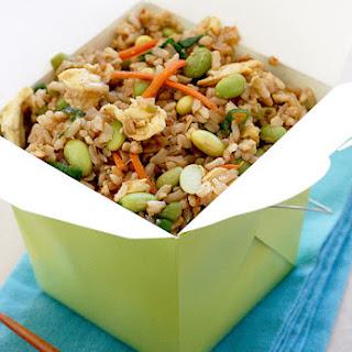 Asian Edamame Fried Rice.