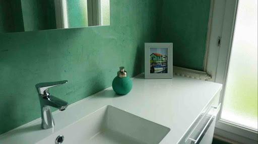 prix salle bain beton cire
