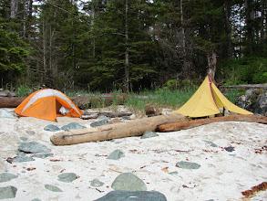 Photo: My campsite west of Cape Fox.