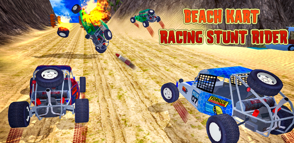 Beach Kart Racing Stunt Rider