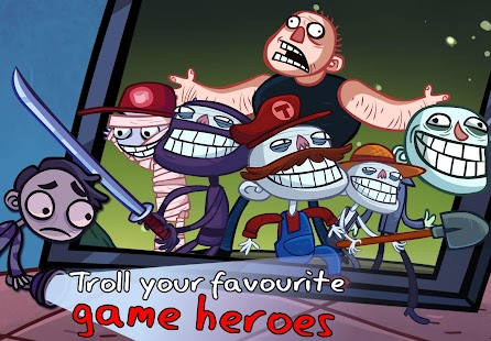 Troll Face Quest Video Games- screenshot thumbnail