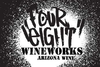 Logo for Four Eight Wineworks White