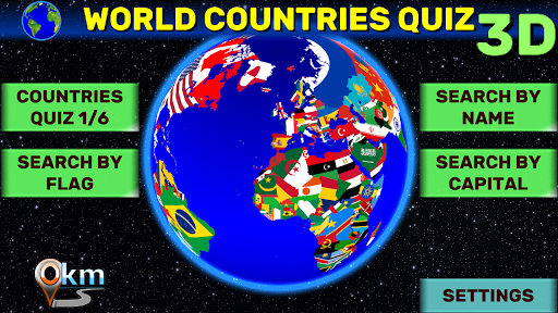 World Map Quiz: Coutries, Capitals, Flags  screenshots 9