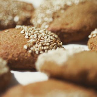 Tahini-Molases Cookies -vegan-