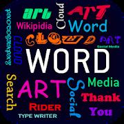 Word Art Cloud Maker : Word Collage Maker