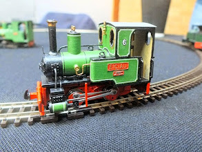 Photo: 018 A better view of Tim Ellis's superb model of Bredgar & Wormshill Orenstein & Koppel 0-4-0WT Eigiau using the new Narrow Planet O&K 40hp loco kit as a basis. Eigiau and several other O&K industrial loco varieties are shortly to be released as separate Narrow Planet kits and should prove to be very popular additions to the commercially available locomotives in 009 .
