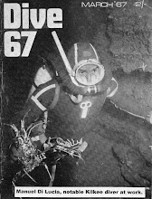"""Photo: """"Dive '67"""". First issue cover."""