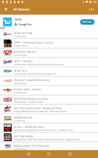 Country Music RADIO- screenshot thumbnail