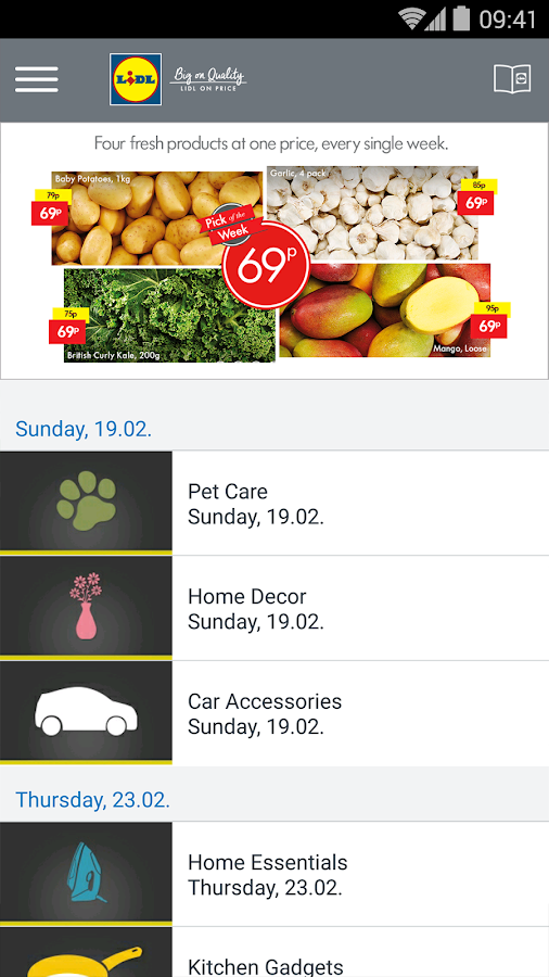Lidl - Offers & Leaflets- screenshot