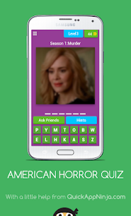 AMERICAN HORROR QUIZ - náhled