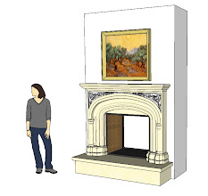 Photo: one of the Francois & Co. mantels we tried