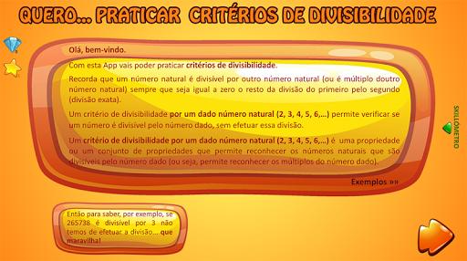 Critu00e9rios de divisibilidade 0.0 screenshots 2