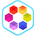 Draw Doodle Line - Connect Hex icon