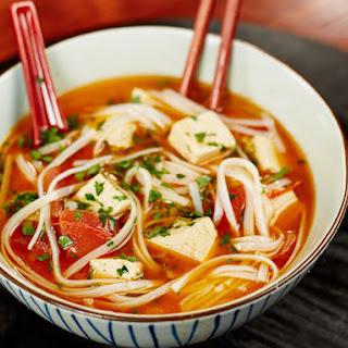 Coconut Curry Noodle Bowl.