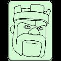 COC Attack Button icon