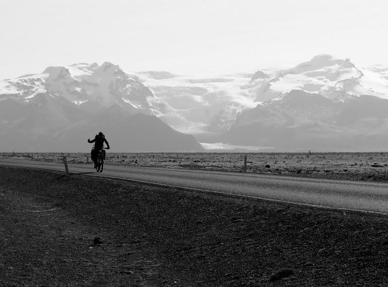 Giro dell'Islanda in bicicletta in solitaria di Giorgio Lucca