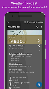 Wake me up! Smart Alarm- screenshot thumbnail