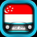 Radio Singapore: Radio Singapore FM + Radio Online icon