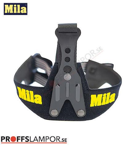 Tillbehör Huvudställning Mila soft GoPro