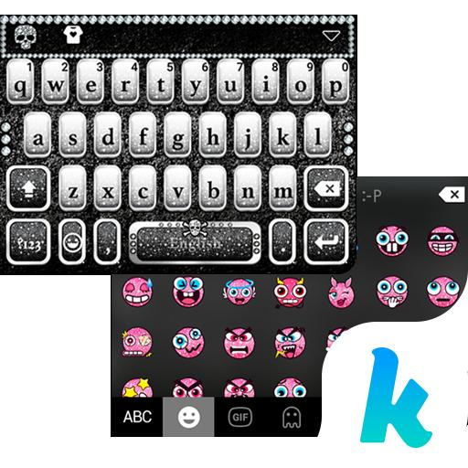 Diamond Skull Kika Keyboard 個人化 App LOGO-硬是要APP