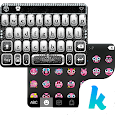 Diamond Skull Keyboard theme
