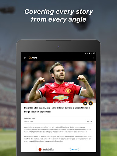 90min - Live Soccer News App  8