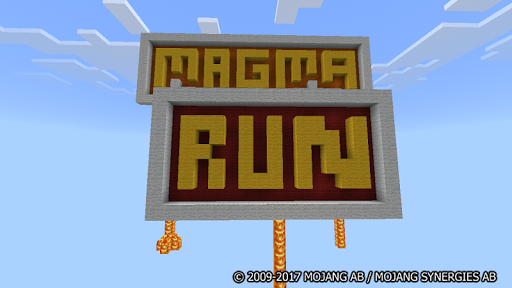 Floor Is Magma. MCPE Parkour Maps for PC