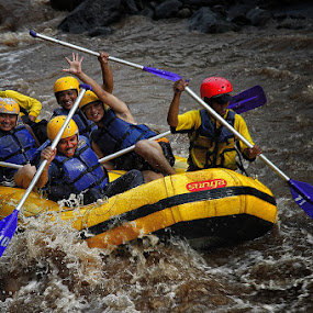 Songa Rafting by Alim Sumarno - Sports & Fitness Watersports ( rafting )