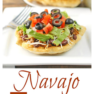 Navajo Tacos and Indian Fry Bread.