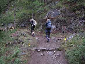 "Photo: Today's trail just happens to be the final leg of the ""Tor des Geants"" race ..."