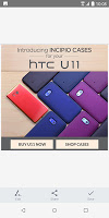 screenshot of HTC Screen capture tool