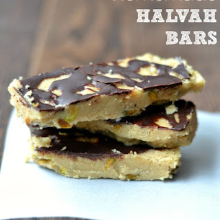 Homemade Halvah Bars