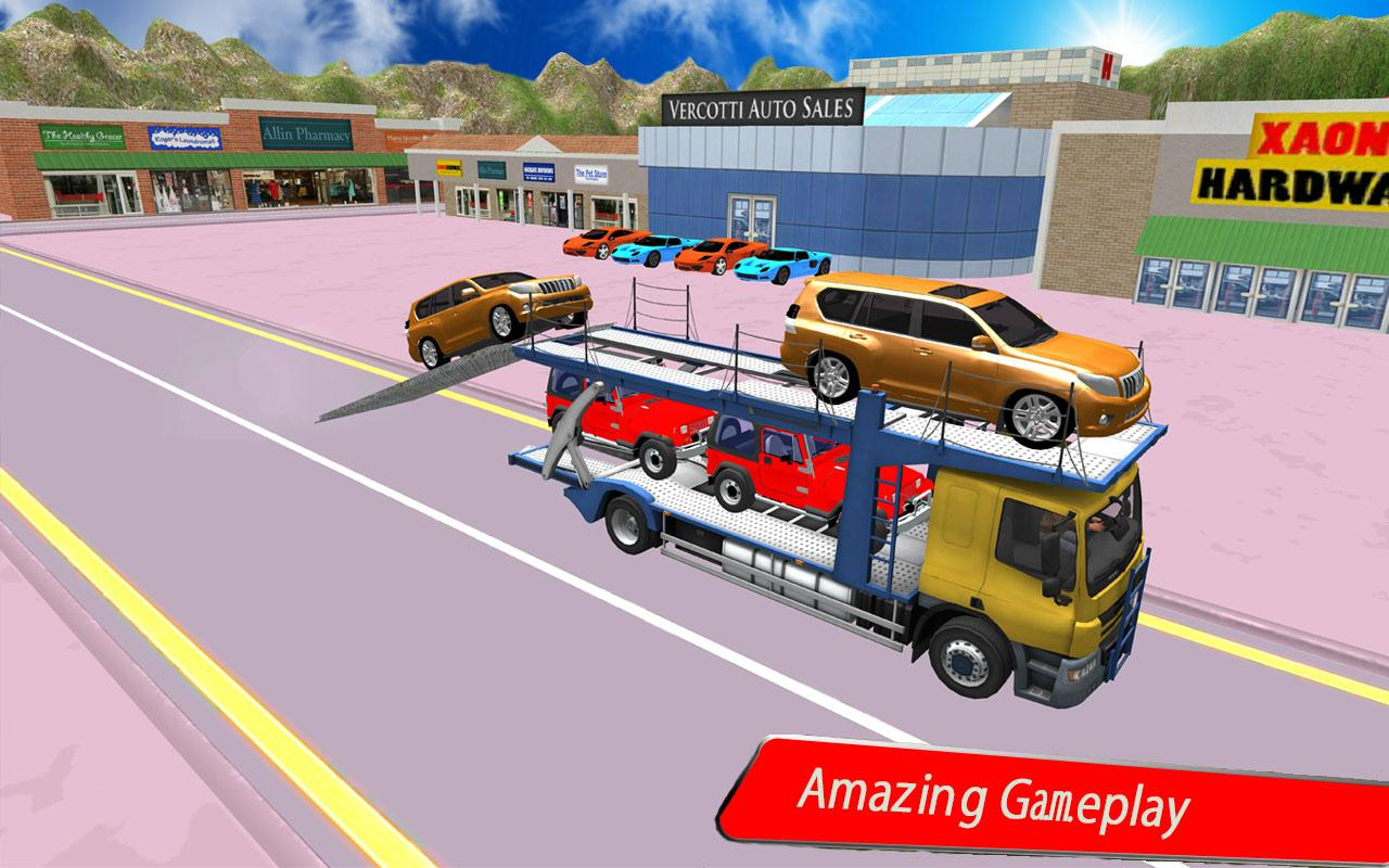 Real Car Transporting Truck Games Android Apps On Google Play
