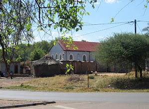 Photo: Mochudi church where Mma Ramotswe once got married to the trumpette player