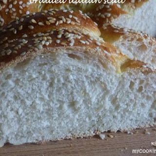 Braided Italian Scali Bread