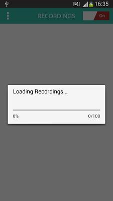 Automatic Hidden Call Recorder - screenshot
