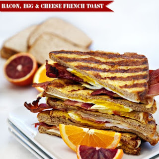 Bacon, Egg & Cheese French Toast