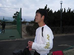 Photo: 下級生を引っ張る長田主将